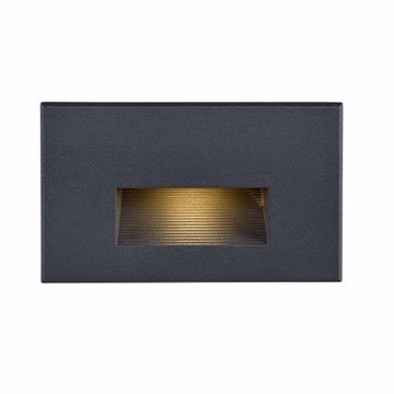 Picture of NUVO Lighting 65/404 LED Horizontal Step Light; 5 Watt; Bronze Finish; 277 Volts