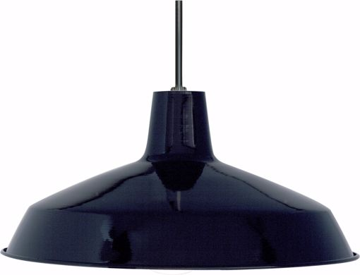 """Picture of NUVO Lighting SF76/284 1 Light - 16"""" - Pendant - Warehouse Shade"""