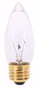 Picture of SATCO A3632 40W Torpedo Standard Clear 130V Incandescent Light Bulb