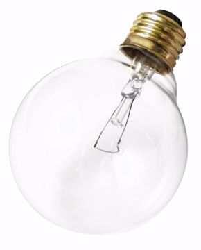 Picture of SATCO A3644 40G25 CLEAR 220 VOLT Incandescent Light Bulb