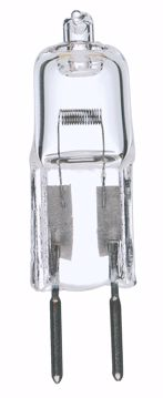 Picture of SATCO S1987 50W BI-PIN 24 VOLT GY6.35 Halogen Light Bulb