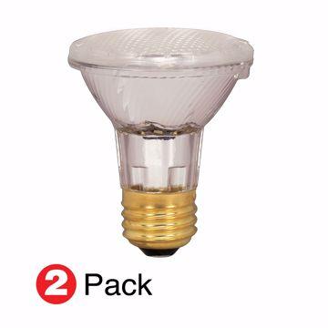 Picture of SATCO S2267 39PAR20/HAL/XEN/NFL/2PK/120V Halogen Light Bulb