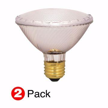 Picture of SATCO S2268 60PAR30/HAL/XEN/NFL/2PK/120V Halogen Light Bulb