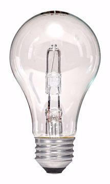 Picture of SATCO S2402 43A19/HAL/ES/CL/120V Halogen Light Bulb