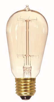Picture of SATCO S2413 40ST19/CL/15S/120V VINTAGE Incandescent Light Bulb