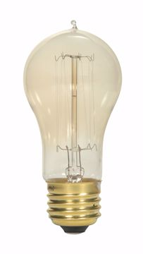 Picture of SATCO S2424 40A15/13S/CL/120V VINTAGE Incandescent Light Bulb