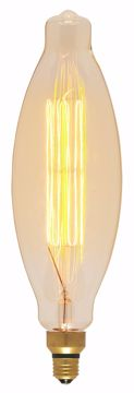 Picture of SATCO S2431 100BT38/AMBER/E26/VINTAGE/120V Incandescent Light Bulb