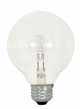 Picture of SATCO S2441 43G25/HAL/CL/120V 3PK Halogen Light Bulb