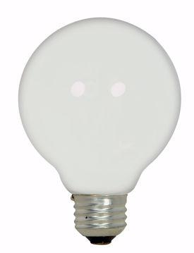 Picture of SATCO S2442 43G25/HAL/WH/120V Halogen Light Bulb