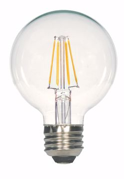 Picture of SATCO S29563 4.5G25/CL/LED/E26/27K/120V LED Light Bulb