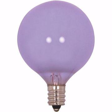 Picture of SATCO S2974 40G16.5 VERILUX GLOBE VLX Incandescent Light Bulb