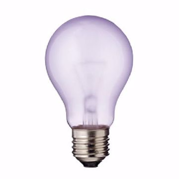 Picture of SATCO S2991 60A19 GRO PLANT LIGHT Incandescent Light Bulb