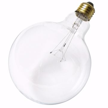 Picture of SATCO S3012 60G40 CLEAR Incandescent Light Bulb