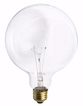 Picture of SATCO S3014 150G40 CLEAR Incandescent Light Bulb