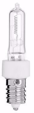 Picture of SATCO S3132 100Q/CL E-14 EUROPEAN BASE Halogen Light Bulb