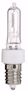 Picture of SATCO S3134 250Q/CL E-14 EUROPEAN BASE Halogen Light Bulb