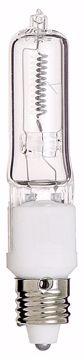 Picture of SATCO S3181 500Q/CL MINI CAN CLEAR Halogen Light Bulb