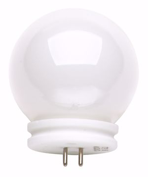 Picture of SATCO S3187 20W G14.4 BALL-LITE Halogen Light Bulb