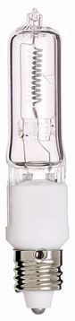 Picture of SATCO S3484 75W Q/CL MINI-CANCARDED Halogen Light Bulb