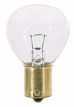 Picture of SATCO S3624 1133 6.2v 24.2w BA15S RP11 C2R Incandescent Light Bulb