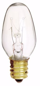 Picture of SATCO S3691 7C7 NITELITE Clear Incandescent Light Bulb