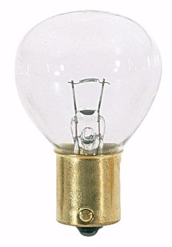 Picture of SATCO S3724 24W RP11 1133 BAYON Clear Incandescent Light Bulb