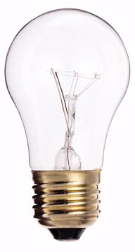 Picture of SATCO S3814 25A15 Standard CLEAR 130V Incandescent Light Bulb