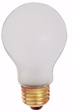 Picture of SATCO S3927 60A19/SAFETY COATED TF Incandescent Light Bulb