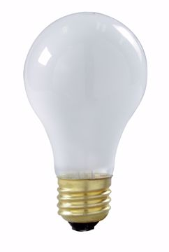 Picture of SATCO S3928 75A19/SAFETY COATED TF Incandescent Light Bulb
