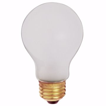 Picture of SATCO S3931 75A19 R/S SAFETY COATED Incandescent Light Bulb