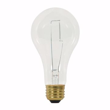 Picture of SATCO S3958 200A23 CLEAR 120V 2500HRS Incandescent Light Bulb