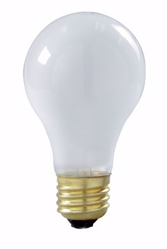 Picture of SATCO S3970 75W ROUGH SERVICE Incandescent Light Bulb