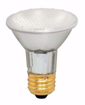 Picture of SATCO S4130 39PAR20/HAL/XEN/FL/Frosted/120V Halogen Light Bulb