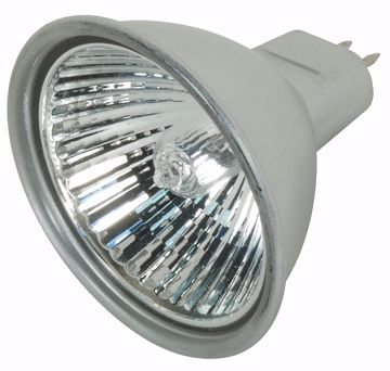 Picture of SATCO S4175 BAB/S/C 38' 20MR16 SILVER LENS Halogen Light Bulb