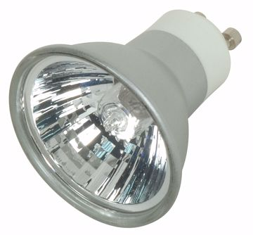 Picture of SATCO S4182 EXN/S/GU10 38' 50MR16 SLVR LEN Halogen Light Bulb