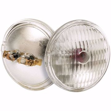 Picture of SATCO S4334 7672-1 6V 7W SOT2 PAR36 C2R Incandescent Light Bulb