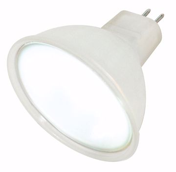 Picture of SATCO S4356 50MR16/SP/ Frosted TFrosted Halogen Light Bulb