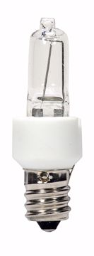 Picture of SATCO S4482 KX60CL/E12 KRYPTON CAND CLEAR Halogen Light Bulb