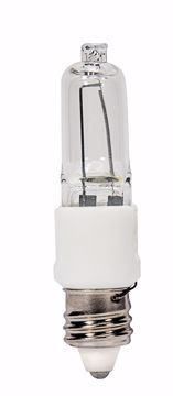 Picture of SATCO S4488 KX60CL/E11 KRYPTON MINI-CAN CL Halogen Light Bulb