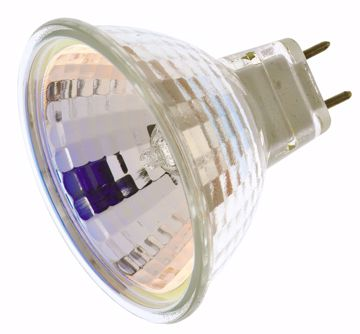 Picture of SATCO S4626 20W MR16 G8 BASE 120V W/COVER Halogen Light Bulb