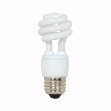 Picture of SATCO S5504 9T2/E26/2700K/120V/1BL Compact Fluorescent Light Bulb