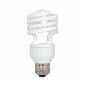 Picture of SATCO S5519 15T2/E26/2700K/120V/1BL Compact Fluorescent Light Bulb