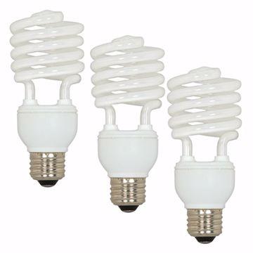 Picture of SATCO S5544 23T2/E26/2700K/120V/3BL Compact Fluorescent Light Bulb