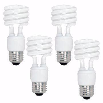 Picture of SATCO S5549 13T2/E26/5000K/120V/4BL Compact Fluorescent Light Bulb