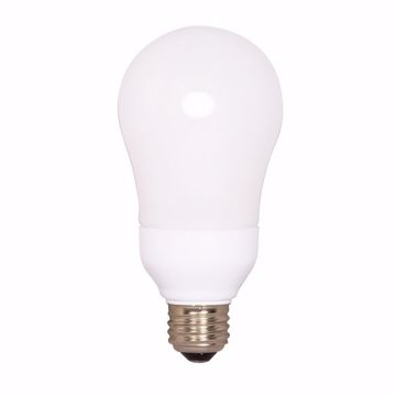 Picture of SATCO S5575 15A19/E26/2700K/120V/1BL Compact Fluorescent Light Bulb