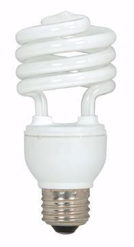 Picture of SATCO S6271 18T2/E26/2700K/120V/3PK Compact Fluorescent Light Bulb