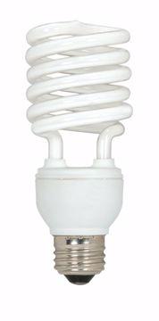 Picture of SATCO S6276 23 WATT T2 MINI SPIRAL E26 120 Compact Fluorescent Light Bulb