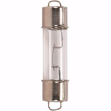 Picture of SATCO S6906 211-2 12.8V 12.4W SF6 T3 C8 Incandescent Light Bulb