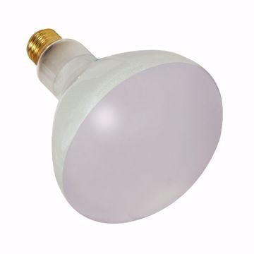 Picture of SATCO S7006 400BR40 FL 120V E26 Incandescent Light Bulb