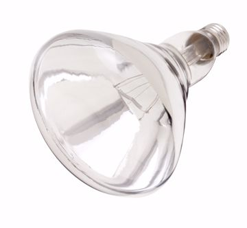 Picture of SATCO S7012 375BR40/1 SHATTER PROOF CLEAR Incandescent Light Bulb